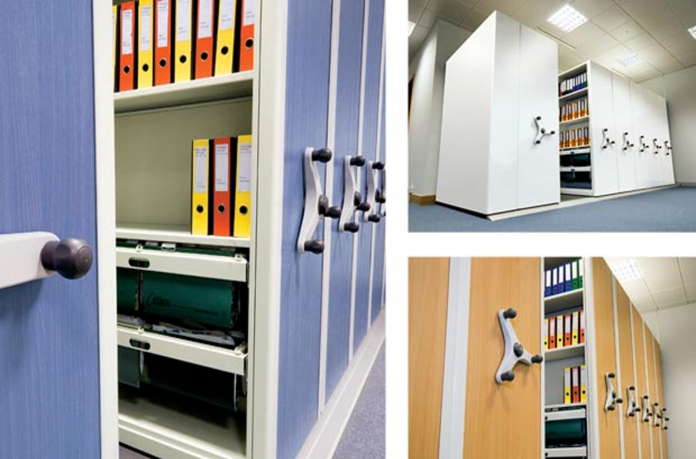 Mobile Shelving Ordering and Fitting